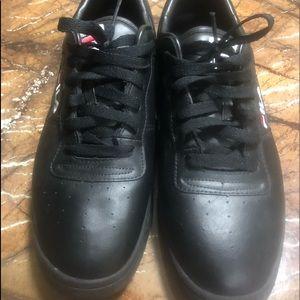 EUC Black Filas size 12